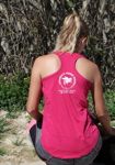 Tank Top fuchsia back